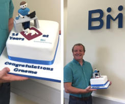Business Micros - Graeme Bailey celebrates 25 Years at Business Micros