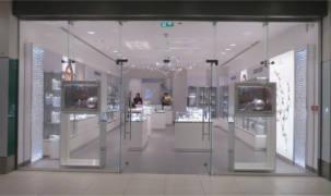 TuffX Processed Glass Ltd - TuffX glass brings sparkle to a new Swarovski shopfront