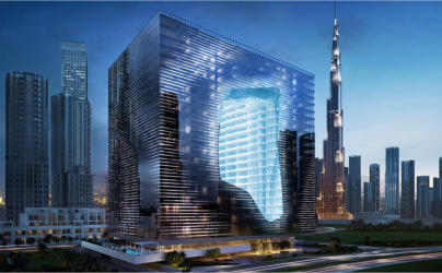 Super Spacer excels in Dubai's extraordinary Opus