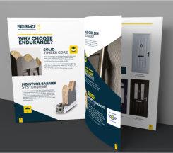 Getting tasty with door brochures from Endurance