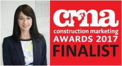 MRA shortlisted for 13 Construction Marketing Awards