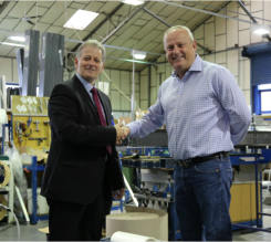 Company's desire to be the best sees it achieve major accreditation ahead of time