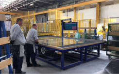 HEGLA and Bystronic installation at Clayton Glass sets new industry bench-mark