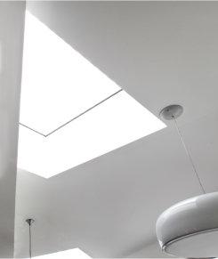 Bespoke rooflights enhance London home