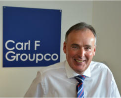 Carl F Groupco's successful year for hardware supply