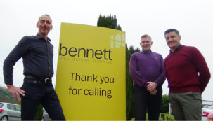 Bennetts celebrates decade at Rosevale Business Park