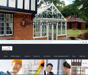 Contech Conservatories launches new website