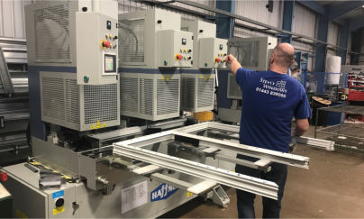 Stevly Windows impressed by capabilities of Haffner Murat's SMR-4 Welder