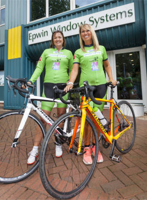 Epwin ladies raise over £40,000 in Paddle2Pedal challenge