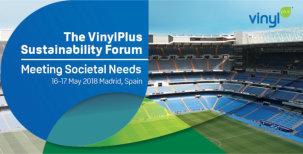 VinylPlus Sustainability Forum 2018 to focus on 'Meeting Societal Needs'